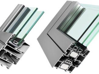 Σήμερα υπάρχουν ολοκληρωμένα συστήματα προφίλ και εξαρτημάτων αλουμινίου.